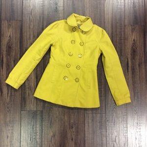 Yellow ASOS Bow Jacket w/ Pleats